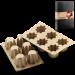Цены на Silikomart Форма прямоугольная 75х75 мм.,   в подарочной упаковке серия Let`s Celebrate,   SILIKOMART Силиконовая форма отлично подходит для приготовления разнообразной выпечки и десертов. Готовые сладости вынимаются из гибкой и прочной формы очень легко,   а в