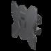 """Цены на Кронштейн на стену ONKRON M3S чёрный (17 - 42"""") Особенности: Для телевизоров диагональю 17"""" - 42"""" Максимальная нагрузка: 35 кг VESA: 75х75 ~ 200х200 мм Угол наклона:  - 8° ~  + 8° Угол поворота: 45° Вылет от стены: 85 мм Материал: холоднокатаная сталь,   SPCC class"""
