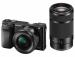 Цены на Sony Фотоаппарат SONY ILCE - 6000YS (24.7Mp,   SD,   SDHC,   SDXC,   Wi - Fi,   NFC) [ILCE6000YB.CEC] SELP1650 + SEL55210 ILCE6000YS.CEC Оптическое увеличение: Оптическое увеличение: 8x;  Разрешение матрицы: 24.3;  Тип носителей информации: SD,   SDHC,   SDXC,   Memory Stick Duo