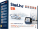 Цены на StarLine StarLine B94 GSM StarLine B94 GSM – это охранный комплекс для защиты автомобиля. Его преимущества: наличие интеллектуальной системы автозапуска,   использование несканируемого диалогового кода управления,   поддержка интерфейса 2CAN,   встроенный модул