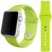 Цены на Силиконовый ремешок Sport для Apple Watch 42 мм (Фисташковый) Стильный cиликоновый браслет создан специально для Apple Watch 42 мм,   выполнен в фисташковом цвете. Замена ремешка не требует усилий,   пользователь apple watch может легко менять браслет в соотв