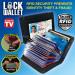 Цены на Кошелек Lock Wallet RFID Blocking Защитите ваши ценности и личные документы от кражи вместе с кошельком Lock Wallet RFID Blocking. Это легкий,   компактный бумажник,   который хранит и обеспечивает безопасность всему содержимому от кибер - кражи. Кошелек содерж