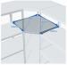 Цены на ПРОМЕТ (Россия) Угловая секция MS Standart 185/ 60x40 (4 полки) Высота секции — 1850 мм Ширина секции — 600 мм Для стеллажа глубиной 400 мм Нагрузка на секцию — 500 кг Вы можете выбрать любое количество полок