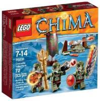 Фото LEGO Chima 70231 Лагерь Клана Крокодилов