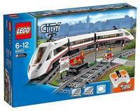 Фото LEGO City 60051 Скоростной пассажирский поезд