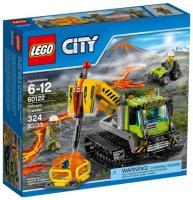 Фото LEGO City 60122 Гусеничный трактор исследователей вулканов