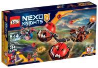 Фото LEGO Nexo Knights 70314 Безумная колесница Укротителя