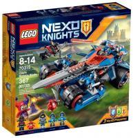 Фото LEGO Nexo Knights 70315 Устрашающий разрушитель Клэя