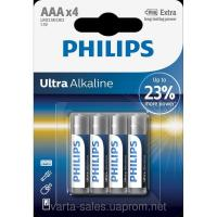 Philips AAA bat Alkaline 4шт PowerLife (LR03E4B/97)