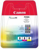 Canon CLI-8 C/M/Y