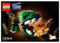 LEGO Studios 1354 Dino Head Attack