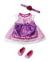 Zapf Creation Бэби Борн Платье Красотка, в пакете с держателем (821428)