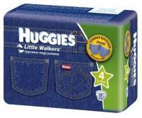 Huggies Трусики для девочек 4 (17 шт.)