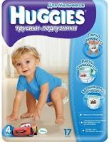 Huggies Трусики для мальчиков 4 (17 шт.)