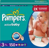 Pampers Active Baby Midi 3 (150 шт.)