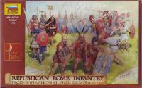 ZVEZDA Республиканский Рим. Пехота. (ZVE8034)