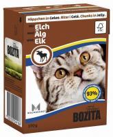 Bozita Feline кусочки в желе с лосем 370 г