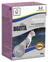 Bozita Feline Sensitive Hair & Skin 190 г