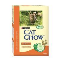 Cat Chow Adult с курицей и индейкой 0,4 кг