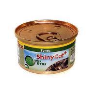Gimpet ShinyCat тунец с травой 70 г