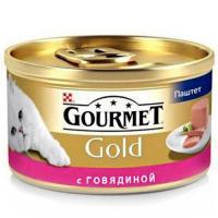 Gourmet Gold паштет с говядиной 0,085 кг