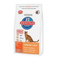Hill's Science Plan Feline Adult Optimal Care with Lamb 10 кг