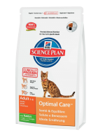 Hill's Science Plan Feline Adult Optimal Care with Rabbit 10 кг