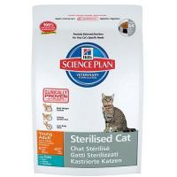 Hill's Science Plan Feline Young Adult Sterilised Cat Tuna 8 кг