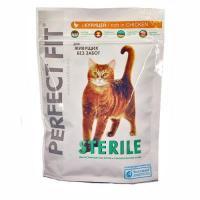 Perfect Fit Sterile с курицей для стерилизованных кошек 0,19 кг