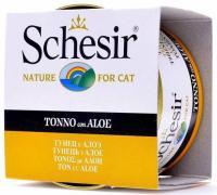 Schesir Консервы для кошек (с тунцом и алоэ) 85 г
