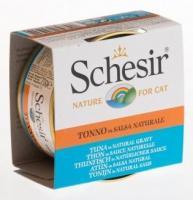 Schesir Консервы для кошек (с тунцом в натуральном соусе) 70 г