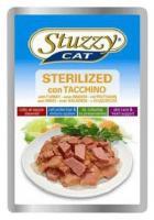 Stuzzy Cat консервы для стерилизованных кошек с индейкой 100 гр