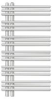 Zehnder Электрический Yucca Asymmetric YAE-090-050/RD