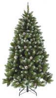 Triumph Tree Ель Императрица с шишками заснеженная 2,15 м